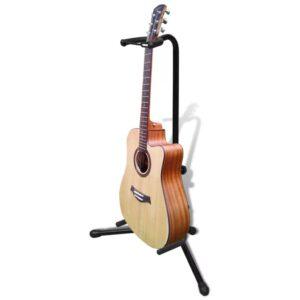 Suporte individual para guitarra, ajustável, dobrável - PORTES GRÁTIS