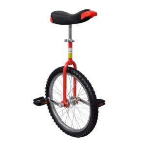 Monociclo ajustável vermelho 50,8 cm (20