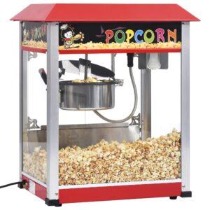 Máquina de Pipocas PROFISSIONAL 1400 W Com Panela Teflon - 56 x 42 x 68 cm - PORTES GRÁTIS