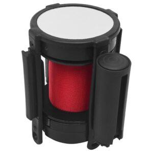 Barreira separadora de fita retrátil 200 cm vermelho - PORTES GRÁTIS