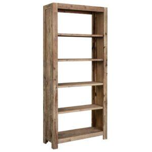 Estante 80x30x180 cm madeira de acácia maciça  - PORTES GRÁTIS