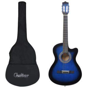 12 pcs conjunto de guitarra acústica com 6 cordas 38