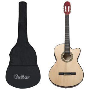 12 pcs conjunto de guitarra com equalizador e 6 cordas     - PORTES GRÁTIS
