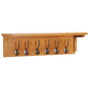 Bengaleiro 60x16x16 cm madeira de carvalho maciça - PORTES GRÁTIS