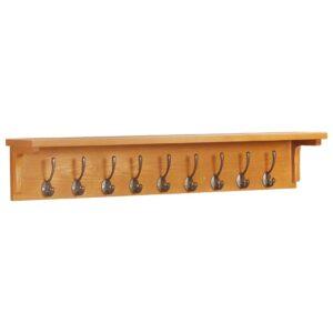 Bengaleiro 90x16x16 cm madeira de carvalho maciça - PORTES GRÁTIS