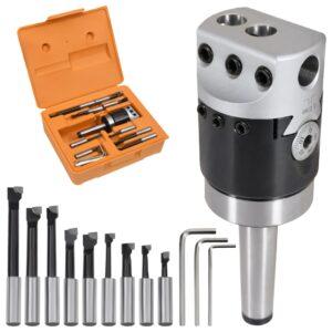 Conj. ferramentas de mandrilar 15 pcs cabeça de 50 mm MT2-F1-12 - PORTES GRÁTIS
