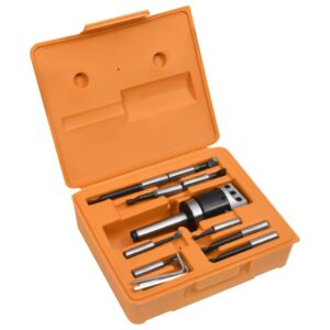 Conj. ferramentas de mandrilar 15 pcs cabeça de 50 mm MT3-F1-12 - PORTES GRÁTIS