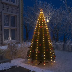 Cordão de luzes para árvore de Natal 250 luzes LED IP44 250 cm - PORTES GRÁTIS