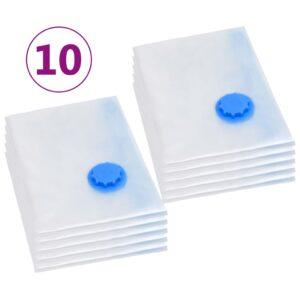 10 Sacos para arrumação de roupas a vácuo 120x70 cm  - PORTES GRÁTIS