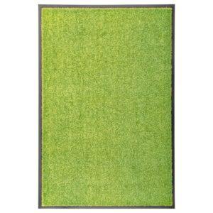 Tapete de porta lavável 60x90 cm verde - PORTES GRÁTIS