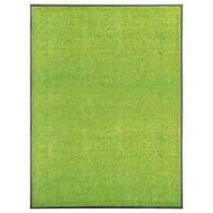 Tapete de porta lavável 90x120 cm verde - PORTES GRÁTIS