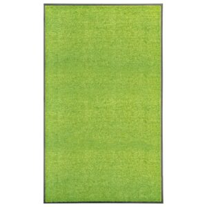 Tapete de porta lavável 90x150 cm verde - PORTES GRÁTIS