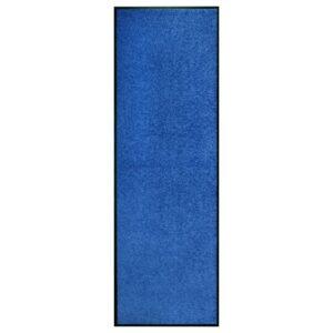 Tapete de porta lavável 60x180 cm azul - PORTES GRÁTIS