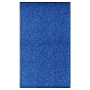 Tapete de porta lavável 90x150 cm azul - PORTES GRÁTIS