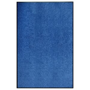 Tapete de porta lavável 120x180 cm azul - PORTES GRÁTIS