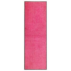 Tapete de porta lavável 60x180 cm rosa - PORTES GRÁTIS