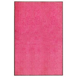 Tapete de porta lavável 120x180 cm rosa - PORTES GRÁTIS