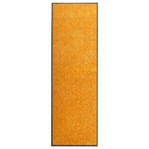 Tapete de porta lavável 60x180 cm laranja - PORTES GRÁTIS