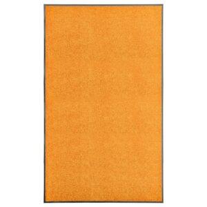 Tapete de porta lavável 90x150 cm laranja - PORTES GRÁTIS