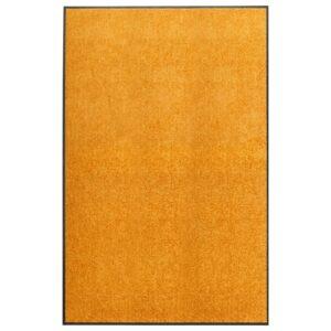 Tapete de porta lavável 120x180 cm laranja - PORTES GRÁTIS