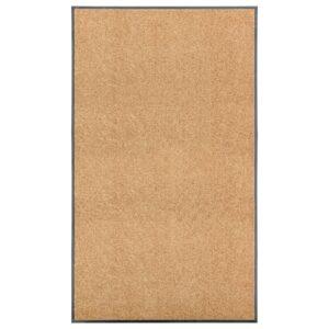 Tapete de porta lavável 90x150 cm creme - PORTES GRÁTIS