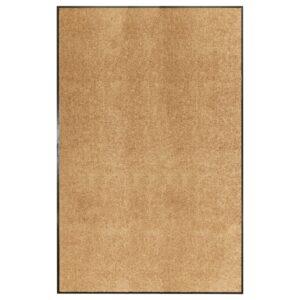 Tapete de porta lavável 120x180 cm creme - PORTES GRÁTIS