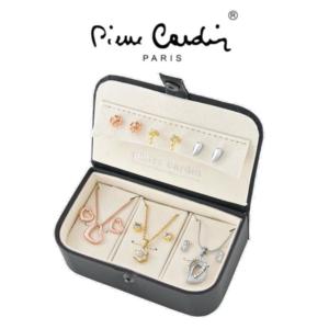 Conjunto Pierre Cardin® 3 Colares e 3 Pares de Brincos | PXX0158Q