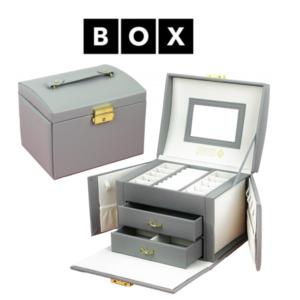 Caixa de Arrumação para Jóias | Com 2 Gavetas | Acabamento Premium | PD102SZ