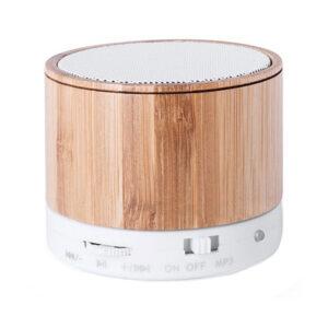 Altifalante Bluetooth sem fios USB FM 3W Bambu 146143 Natural