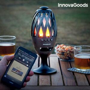 Tocha LED com Altifalante Bluetooth InnovaGoods