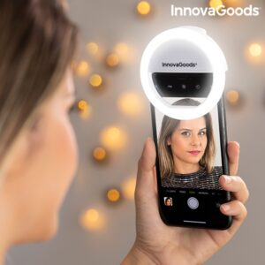 Arco de Luz Recarregável para Selfies - VEJA O VIDEO