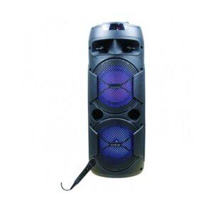Altifalante Bluetooth com microfone para karaoke Innova ALT/CH-6604 20W Preto