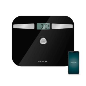 Balança digital para casa de banho Cecotec EcoPower 10200 Smart Healthy LCD Bluetooth 180 kg Preto