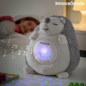 Porco-Espinho de Peluche com Som e Projetor de Luz para Bebés Spikey - VEJA O VIDEO