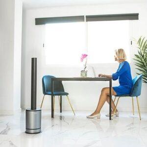 Purificador de Ar Cecotec TotalPure 3 em1 Connected 80º WiFi 2000W Preto - VEJA O VIDEO