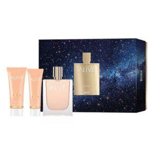 Conjunto de Perfume Mulher Alive Hugo Boss EDP (3 pcs)