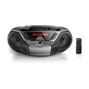 Rádio CD Bluetooth MP3 Philips AZ700 12W Cinzento
