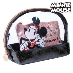 Nécessaire Minnie Mouse Preto (2 pcs)