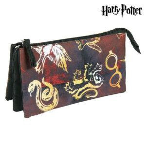 Bolsa Escolar Harry Potter Castanho-avermelhado