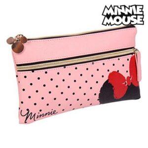 Estojo Minnie Mouse Cor de Rosa