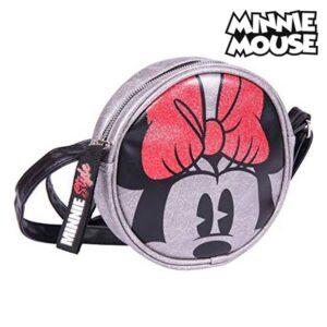 Mala a Tiracolo Minnie Mouse Prateado