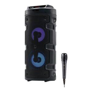 Altifalante Bluetooth com microfone para karaoke ELBE ALT-88 10W Preto