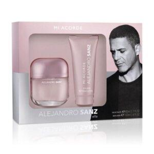 Conjunto de Perfume Mulher Mi Acorde Alejandro Sanz (2 pcs)