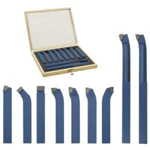 11 pcs conjunto de ferramentas de torneamento 12x12 mm P30 - PORTES GRÁTIS