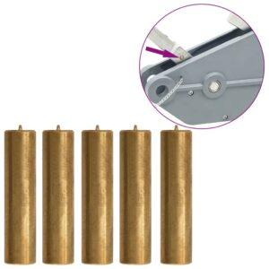 Pinos segurança guincho de cabo de aço 1600/3200 kg 5 pcs latão  - PORTES GRÁTIS