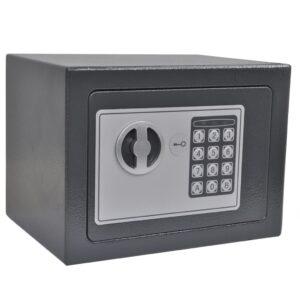 Cofre digital eletrónico 23x17x17 cm - PORTES GRÁTIS
