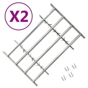 Grades de segurança ajustáveis para janelas 2 pcs 1000-1500 mm - PORTES GRÁTIS
