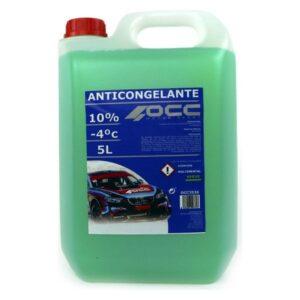 Anticongelante OCC3536 10% Verde (5 L)