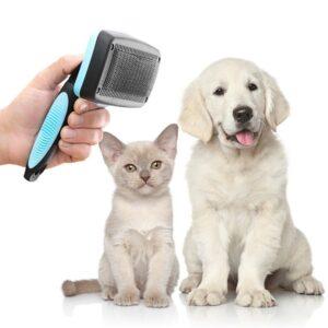 Escova de Limpeza para Animais de Estimação com Cerdas Retráteis Groombot - VEJA O VIDEO