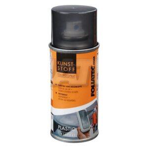 Tinta em spray Foliatec 21010 Plástico Luz interior Preto/Cinzento (150 ml)